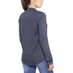 Bergans W's Oslo Shirt Dark Denim